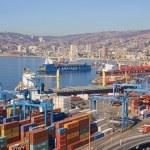 Port of Valparaiso — Stock Photo