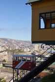 Valparaiso Funicular — Stock Photo