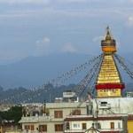 Boudhanath Stupa in Kathmandu — Stock Photo #8012698