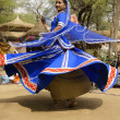Tribal Dancer in a Spin — Stock Photo #8407302