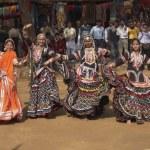 Tribal Dancers Performing — Stock Photo #8407347