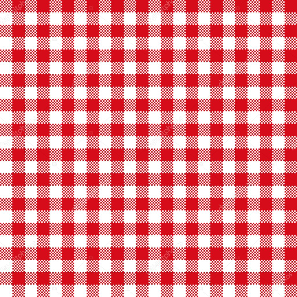 Red checkered background clipart clipground - Tablecloth