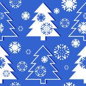 Christmas tree pattern — Stock Vector