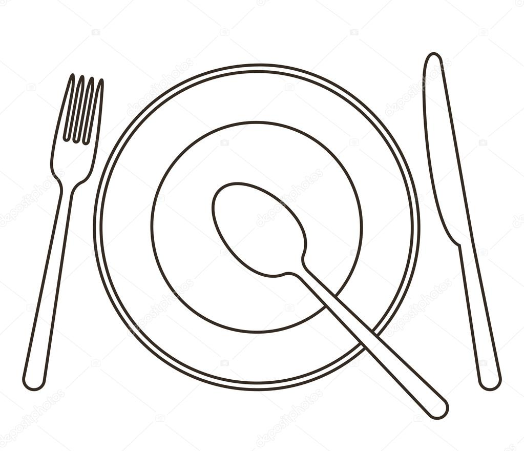 Free coloring pages of place setting