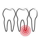 Toothache — Cтоковый вектор
