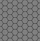Seamless geometric pattern — Vecteur