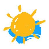 Sun and sky symbol  — Vetorial Stock