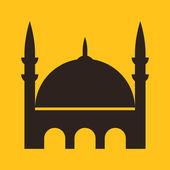Mosque icon  — Stock Vector