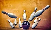 Bowling-pins — Stockfoto