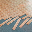 Stock Photo: Wooden parquet