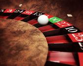 Roleta do casino — Foto Stock