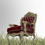Regal armchair — Stock Photo