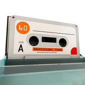 Cassette tape — 图库照片