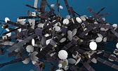 Satélites — Foto de Stock