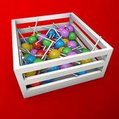 Muchos caramelos — Foto de Stock