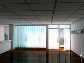 Empty modern office — Stock Photo