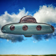 Ufo spaceship - Stock Photo