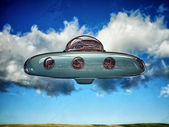 Ufo spaceship — Stock Photo