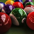 Stock Photo: Pool balls