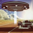 Ufo abduction — Stock Photo #23090686