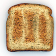 Slice of toast — Stock Photo