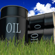 Oil barrels — Stockfoto