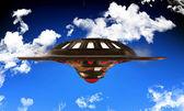 Tanımlanamayan uçan nesne — Stok fotoğraf