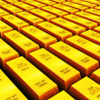 Stock Photo: Gold ingots