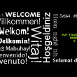 Welcome message in all languages — Stock Photo #29084379