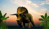 Triceratopos — Zdjęcie stockowe