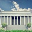 Stock Photo: Lincoln memorial