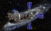 Kosmická loď — Stock fotografie