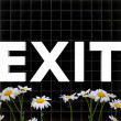 Exit sign — Stock Photo #38214545