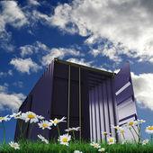 Cargo container — Fotografia Stock