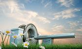 Máquina de tomografía — Foto de Stock