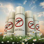 Mosquito repellent spray  — Stock Photo