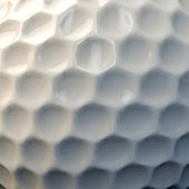 Golf ball skin — Stock Photo