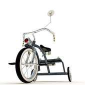 Blue tricycle — Stock Photo