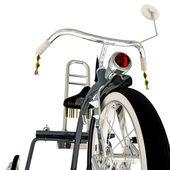 Tricycle bleu — Photo