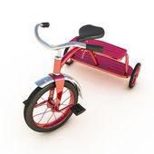 Triciclo rosso — Foto Stock