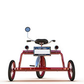 Tricycle rouge — Photo