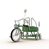 Gröna trehjuling — Stockfoto