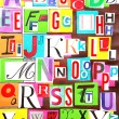 Royalty-Free Stock Photo: Alphabet color