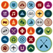 Royalty-Free Stock Vector Image: Merit badges