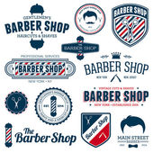 Barber shop gráficos — Vector de stock