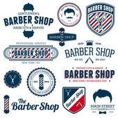 Barber shop graphics — Stock Vector