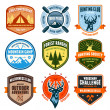 Outdoor emblems — Stock Vector #21162537