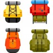 Backpacks — Image vectorielle