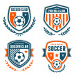 Soccer crests — Stock Vector #48703707