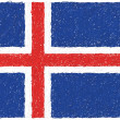 Royalty-Free Stock Vector Image: Flag of iceland